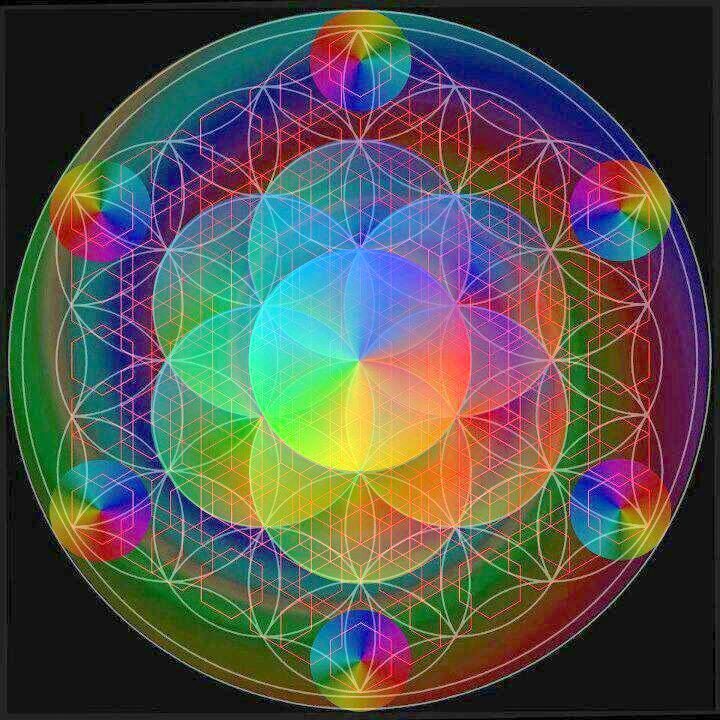 I Mandala Colori E Lavoro Su Di Se Amore Divino Amore Terreno
