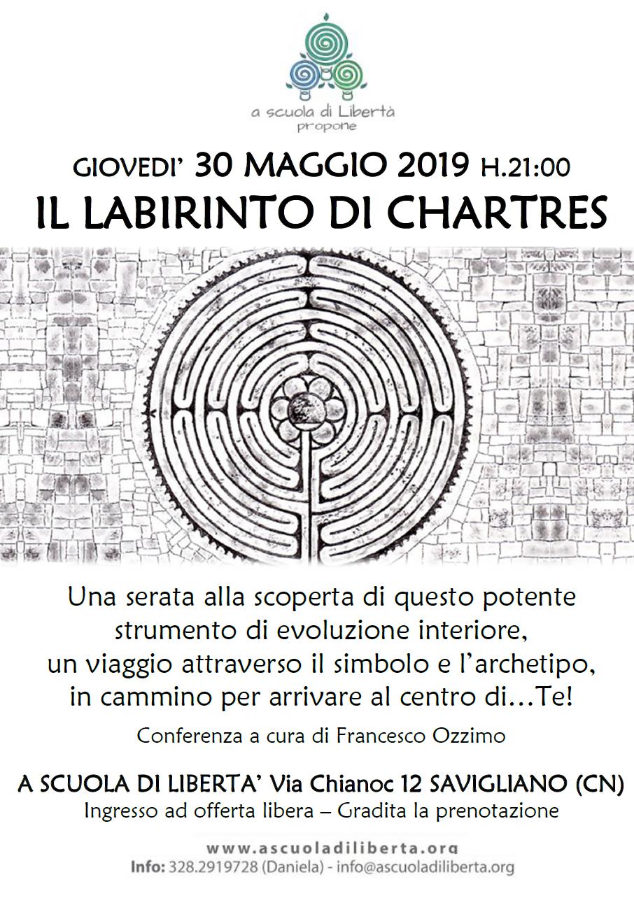 30 Maggio 2019 - Conferenza sul Labirinto di Chartres - Savigliano (CN)